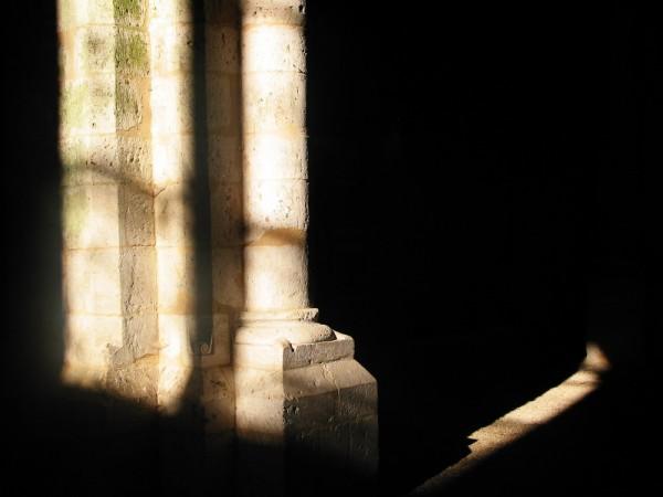 Colonne du prieuré de Pont-Loup