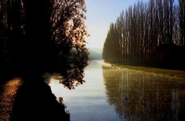 La Seine à Melun